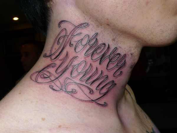 Stewart robson black grey and lettering tattoos for Grey tattoo writing
