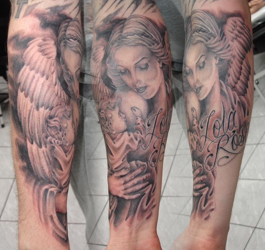 st michael archangel & hindang church tattoo. the making of my tattoo,