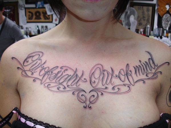 Stewart robson blog script lettering on chest for Chest tattoo writing